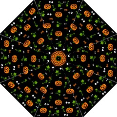 Pumpkins   Halloween Pattern Hook Handle Umbrellas (medium)