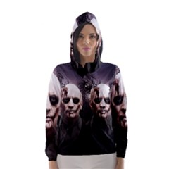 Zombie Hooded Wind Breaker (women)