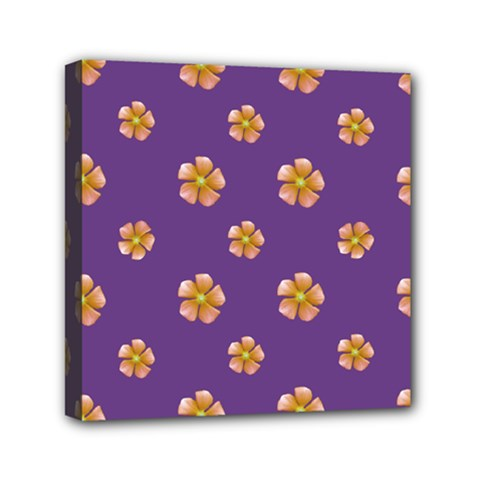 Ditsy Floral Pattern Design Mini Canvas 6  X 6  by dflcprints