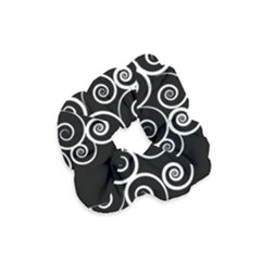 Abstract Spiral Christmas Tree Velvet Scrunchie by Mariart
