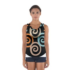 Abroad Spines Circle Sport Tank Top  by Mariart
