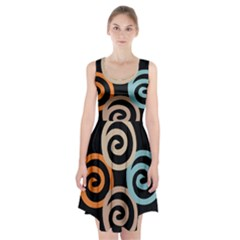 Abroad Spines Circle Racerback Midi Dress by Mariart