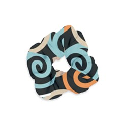 Abroad Spines Circle Velvet Scrunchie by Mariart