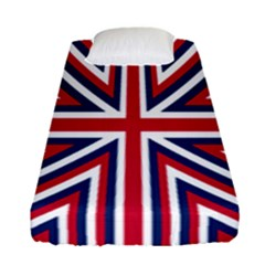Alternatively Mega British America Fitted Sheet (single Size) by Mariart
