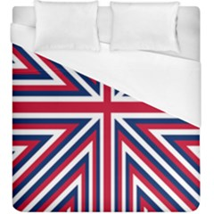 Alternatively Mega British America Duvet Cover (king Size) by Mariart