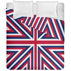 Alternatively Mega British America Duvet Cover Double Side (california King Size) by Mariart