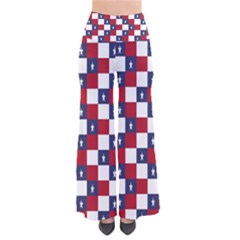 American Flag Star White Red Blue Pants by Mariart