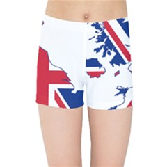Britain Flag England Nations Kids Sports Shorts