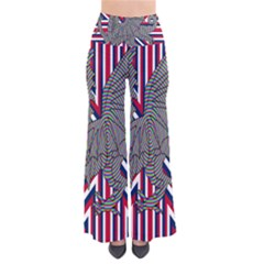 Alternatively Mega British America Dragon Illustration Pants by Mariart