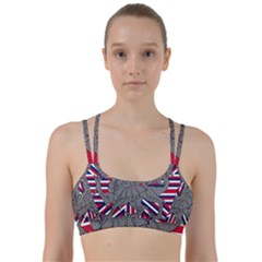 Alternatively Mega British America Dragon Illustration Line Them Up Sports Bra by Mariart