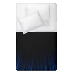 Colorful Light Ray Border Animation Loop Blue Motion Background Space Duvet Cover (single Size) by Mariart