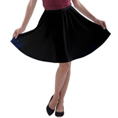 Colorful Light Ray Border Animation Loop Blue Motion Background Space A Line Skater Skirt