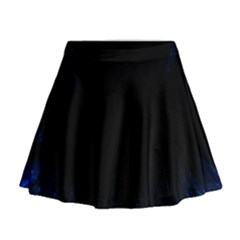 Colorful Light Ray Border Animation Loop Blue Motion Background Space Mini Flare Skirt by Mariart