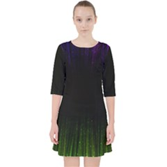 Colorful Light Ray Border Animation Loop Rainbow Motion Background Space Pocket Dress