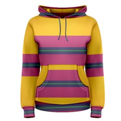 Layer Retro Colorful Transition Pack Alpha Channel Motion Line Women s Pullover Hoodie by Mariart