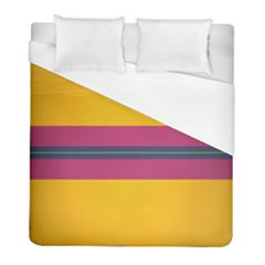 Layer Retro Colorful Transition Pack Alpha Channel Motion Line Duvet Cover (full/ Double Size) by Mariart