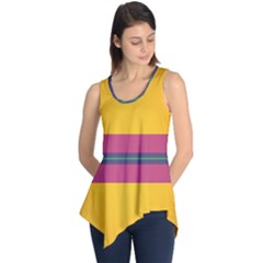 Layer Retro Colorful Transition Pack Alpha Channel Motion Line Sleeveless Tunic