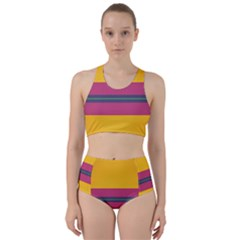 Layer Retro Colorful Transition Pack Alpha Channel Motion Line Racer Back Bikini Set by Mariart