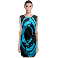 Graphics Abstract Motion Background Eybis Foxe Classic Sleeveless Midi Dress