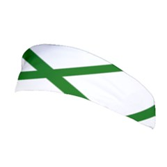 Lissajous Small Green Line Stretchable Headband by Mariart