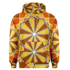 Ornaments Art Line Circle Men s Pullover Hoodie by Mariart
