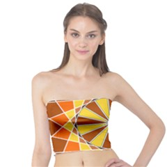 Ornaments Art Line Circle Tube Top by Mariart
