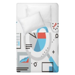 Science Mathematics Formula Duvet Cover Double Side (single Size) by Mariart