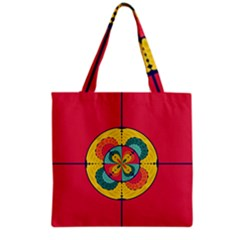 Color Scope Grocery Tote Bag by linceazul