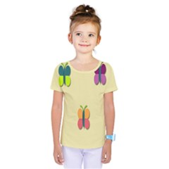 Spring Butterfly Wallpapers Beauty Cute Funny Kids  One Piece Tee