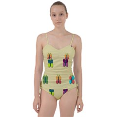 Spring Butterfly Wallpapers Beauty Cute Funny Sweetheart Tankini Set
