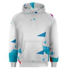 Triangle Chevron Colorfull Men s Pullover Hoodie by Mariart