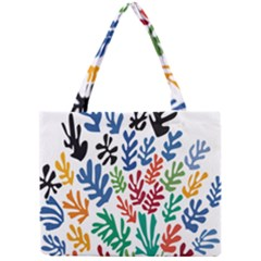 The Wreath Matisse Beauty Rainbow Color Sea Beach Mini Tote Bag by Mariart