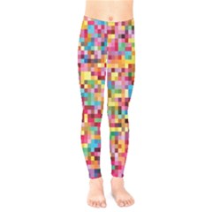 Mosaic Pattern 2 Kids  Legging