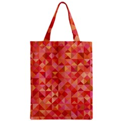 Mosaic Pattern 6 Zipper Classic Tote Bag by tarastyle