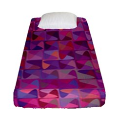Mosaic Pattern 7 Fitted Sheet (single Size) by tarastyle