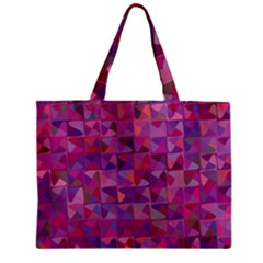 Mosaic Pattern 7 Zipper Mini Tote Bag by tarastyle
