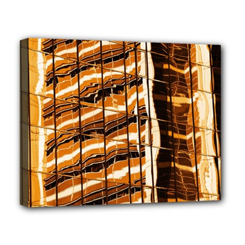 Abstract Architecture Background Deluxe Canvas 20  X 16   by Nexatart
