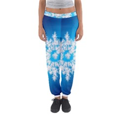 Background Christmas Star Women s Jogger Sweatpants
