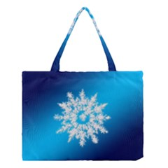 Background Christmas Star Medium Tote Bag