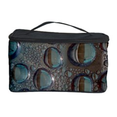 Drop Of Water Condensation Fractal Cosmetic Storage Case by Nexatart