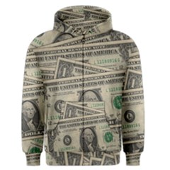 Dollar Currency Money Us Dollar Men s Zipper Hoodie