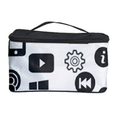 Icon Ball Logo Google Networking Cosmetic Storage Case