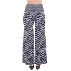 Grid Wire Mesh Stainless Rods Pants by Nexatart