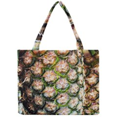 Pineapple Texture Macro Pattern Mini Tote Bag