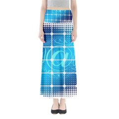 Tile Square Mail Email E Mail At Full Length Maxi Skirt