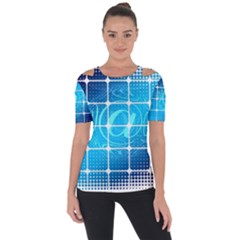 Tile Square Mail Email E Mail At Short Sleeve Top