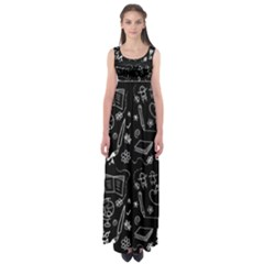 Back To School Empire Waist Maxi Dress