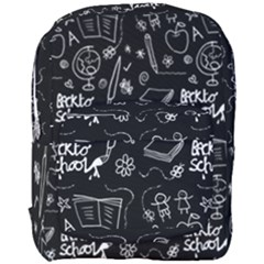 Back To School Full Print Backpack by Valentinaart