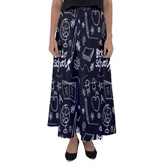 Back To School Flared Maxi Skirt by Valentinaart