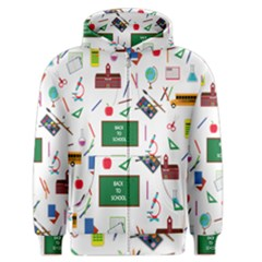 Back To School Men s Zipper Hoodie